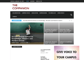 Thecompanion.in thumbnail