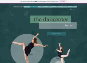 Thedancenter.net thumbnail