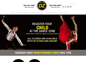 Thedancezone.ca thumbnail