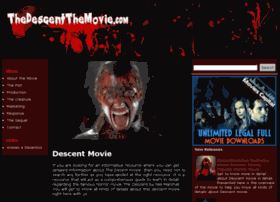 Thedescentthemovie.com thumbnail