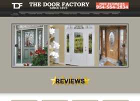 Thedoorfactoryfl.com thumbnail