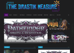 Thedrastikmeasure.com thumbnail