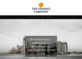 Thefinancecompany.net thumbnail