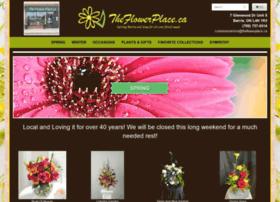 Theflowerplace.ca thumbnail