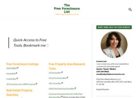 Thefreeforeclosurelist.com thumbnail