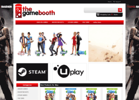 Thegamebooth.co.uk thumbnail