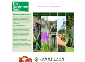 Thegardenersguild.co.uk thumbnail