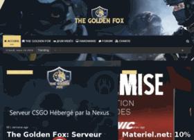 Thegoldenfox.fr thumbnail