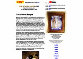 Thegoldenprayer.org thumbnail