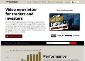 Thegoldforecast.com thumbnail