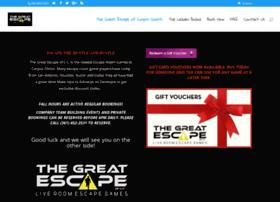 Thegreatescapeofcc.com thumbnail