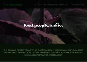Thegrowingproject.org thumbnail