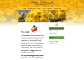 Thehealthchoices.com thumbnail