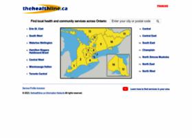 Thehealthline.ca thumbnail