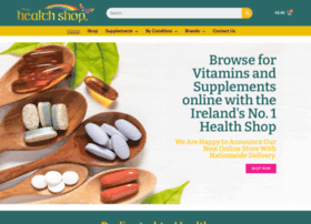 Thehealthshop.ie thumbnail