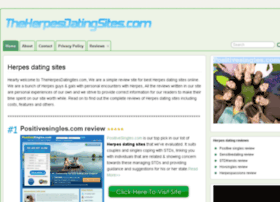Dating website herpes