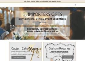 Theimportersgifts.com thumbnail