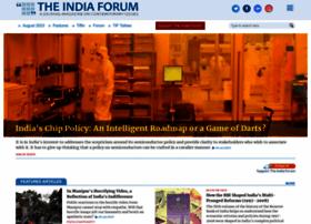 Theindiaforum.in thumbnail