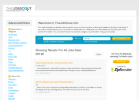 Thejobscout.info thumbnail