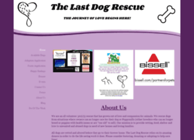 Thelastdogrescue.org thumbnail