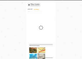 Thelists.org thumbnail