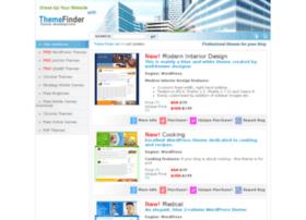 Theme-finder.net thumbnail