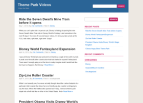 Themeparkvideos.net thumbnail