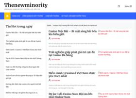 Thenewminority.net thumbnail