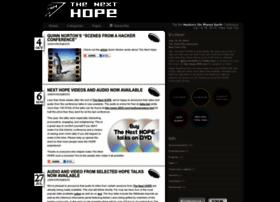 Thenexthope.org thumbnail