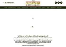 Theoxfordshireshootingschool.co.uk thumbnail