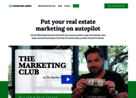 thepaperlessagent.com at WI. Home - Paperless Agent
