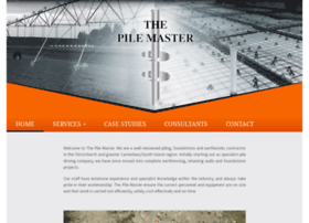Thepilemaster.co.nz thumbnail