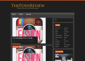 Theposhreview.com thumbnail