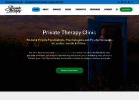 Theprivatetherapyclinic.co.uk thumbnail
