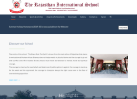 Therajasthanschool.edu.in thumbnail