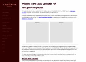 Thesalarycalculator.co.uk thumbnail