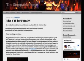 Thestoppableforce.net thumbnail
