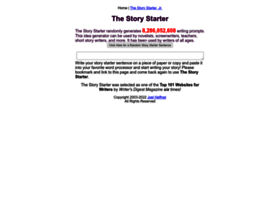 thestorystarter com at WI  Story Starters