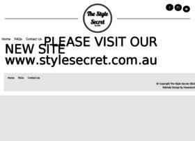 Thestylesecret.com.au thumbnail