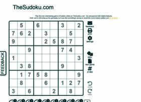 Thesudoku.com thumbnail