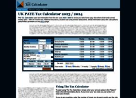 Thetaxcalculator.net thumbnail