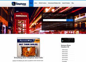 Thetelephonecodes.com thumbnail