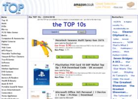Thetoptens.co.uk thumbnail