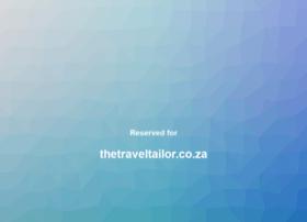 Thetraveltailor.co.za thumbnail
