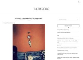 Thetreschic.info thumbnail