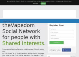 Thevapedom.social thumbnail