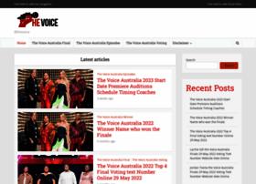 Thevoice-australia.com thumbnail