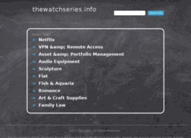 Thewatchseries.info thumbnail