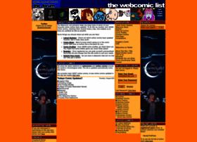 Internet Comics List