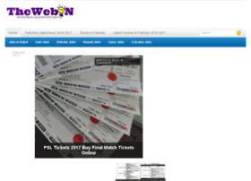 Thewebon.pk thumbnail